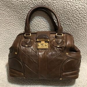 Juicy Couture Large Bacardi Leather Satchel.